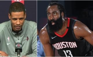 """Naujasis """"Rockets"""" treneris: suteikiau Hardenui laiko"""