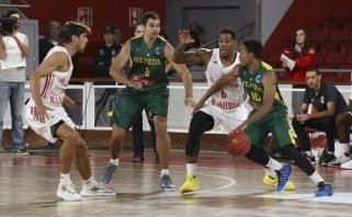 """""""Nevėžis"""" žygį FIBA Europos taurėje pradėjo nesėkme Portugalijoje"""