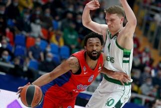 """""""Žalgiryje"""" Grigonį pakeis NBA patirties turintis CSKA amerikietis?"""