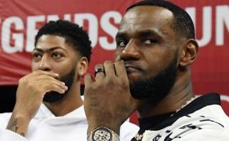 Naująjį NBA sezoną atidarys favoritų mūšis - derbis Los Andžele