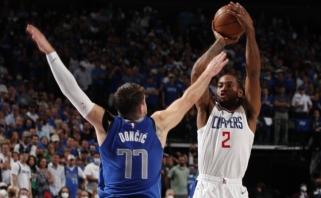 """MVP laikus prisiminęs Kawhi užgožė Dončičių, """"Mavs"""" ir """"Clippers"""" stos į lemiamą mūšį"""
