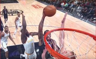 K.Leonardo skrydis - gražiausias NBA momentas