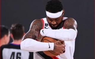 """""""Blazers"""" prezidentas: Carmelo greičiausiai kils nuo suolo"""