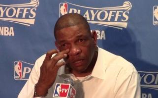 """""""Clippers"""" treneris D.Riversas prisiima atsakomybę dėl komandos fiasko"""
