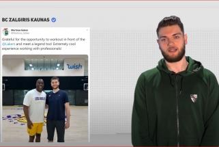 """M.Gebenas: lankiausi """"Lakers"""" štabe, bet manęs nepasirinko, nes taupė L.Jamesui"""