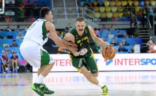Lietuviai pasirodymą pasaulio čempionate pradėjo pergale prieš Meksiką