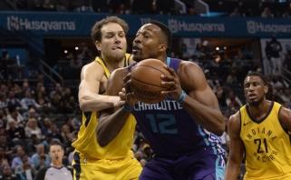 """Karjeros saulėlydis: """"Hornets"""" išmainė Howardą į """"Nets"""" už nepatenkintą Mozgovą"""
