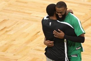 """""""Celtics"""" žvaigždė: situacija su rasizmu yra svarbesnė už krepšinį"""
