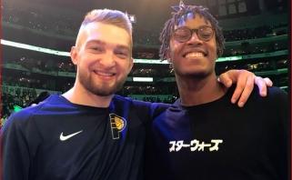 """Lietuviams namie - D.Sabonio bendraklubio, """"Mavericks"""" trenerio ir kitų NBA atstovų pamokos"""
