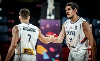 Serbai užtikrintai įveikė būsimus Lietuvos varžovus ir pateko į ketvirtfinalį