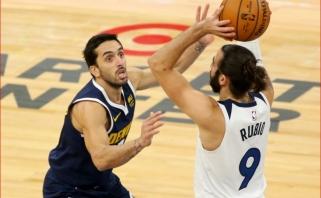 Argentinos bei Ispanijos rinktinių įžaidėjai sukūrė įspūdingiausius NBA nakties momentus