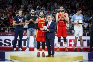 Čempionato MVP - R.Rubio, penkete - jo komandos draugas, argentinietis, prancūzas ir serbas
