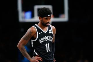 """""""Nets"""" liko be superžvaigždžių: K.Irvingas praleis šį sezoną"""