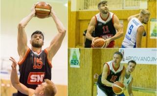 Įspūdingas Lavrinovičių debiutas mėgėjų krepšinio komandoje