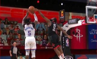 Monstriškas Adabayo dėjimas ir įspūdingas Hardeno blokas - gražiausi NBA nakties momentai