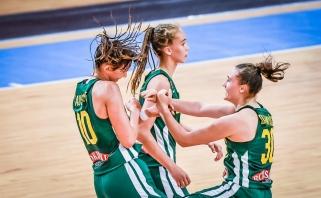 Prancūzes įveikusios merginos - Europos čempionato finale!