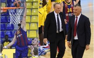 Priminęs, kas nuostabu sporte, Jasikevičius įspėjo: negalime pavargti laimėti