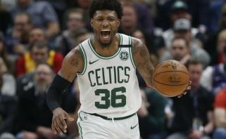 """NBA lygoje – nauji koronaviruso atvejai: užsikrėtė """"Lakers"""" žaidėjai, """"Celtics"""" gynėjas"""