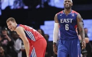 NBA savaitės geriausieji - L.Jamesas ir B.Griffinas