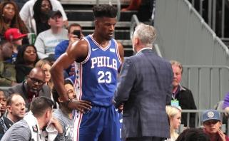 """""""76ers"""" naujoji žvaigždė J.Butleris jau susipyko su treneriu dėl vaidmens puolime"""