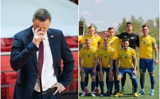 Futbolo ekipa sureagavo į Urbono komentarus: kviečiame į Plungę