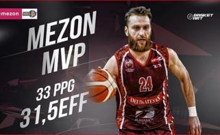 NKL savaitės MVP tapo sezono rezultatyvumo rekordą pagerinęs Ž.Petraitis