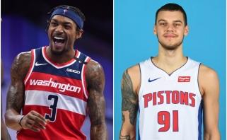 """Sirvydis oficialiai debiutavo """"Pistons""""; Bealas pakartojo """"Wizards"""" rekordą (rezultatai)"""