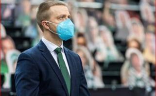"""Į ateitį žvelgiantis """"Žalgirio"""" vadovas – apie sezoną Eurolygoje, skolas ir naujus pajamų šaltinius"""