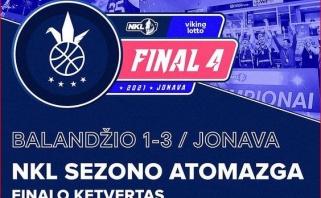 Paskelbtas miestas, kuriame vyks NKL finalo ketverto turnyras