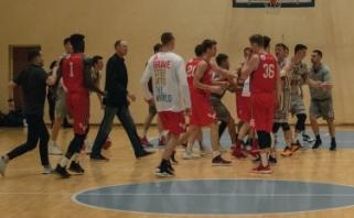 LSKL skyrė nuobaudas masinėse muštynėse Vilniuje dalyvavusiems žaidėjams