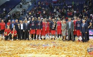 """A.Gomelskio taurės turnyre nieko naujo - finale CSKA sutriuškino """"Maccabi"""""""