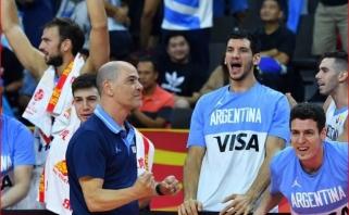 Argentinos treneris didžiavosi savo auklėtiniais: mes ne pralaimėjome auksą, o laimėjome sidabrą