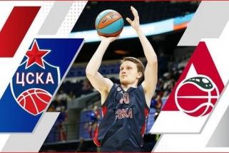 Grigonis dukters gimimą atšventė vesdamas CSKA į Supertaurės finalą