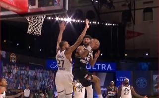 Neįtikėtinas J.Murray'aus piruetas - gražiausias NBA nakties momentas