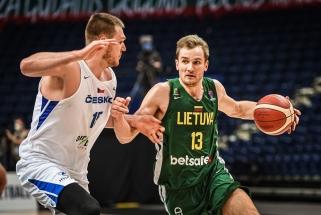 Itin taikliai atakavę lietuviai nepaliko vilčių čekams (video komentarai)