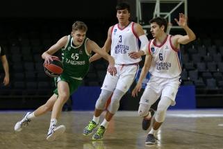 Eurolygos jaunimo turnyre suspindęs Lelevičius: paaugome kiekvienas žaidėjas ir visa komanda