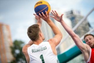 Visas rungtynes Ukrainoje laimėjusi Lietuvos 3×3 rinktinė pateko į Europos čempionatą