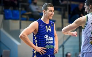 Geriausią asmeninį sezono pasirodymą pakartojęs P.Petrilevičius – LKL savaitės MVP