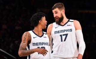 J.Valančiūno ir J.Moranto pasiekimas – itin retas reiškinys NBA lygoje