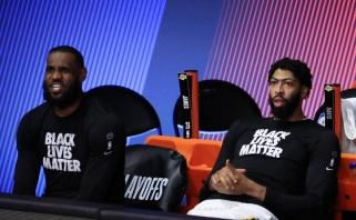 """Traumas patyrę """"Lakers"""" lyderiai ketina žaisti nepaisydami skausmų"""