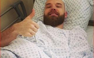 A.Kavaliauskui atlikta operacija, aukštaūgis siunčia linkėjimus