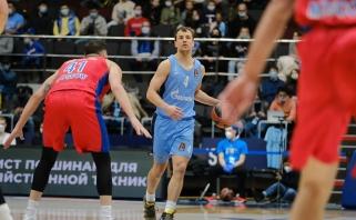 """Rusijos grandų dvikovoje – """"Žalgiriui"""" naudinga CSKA pergalė prieš Gudaičio klubą"""