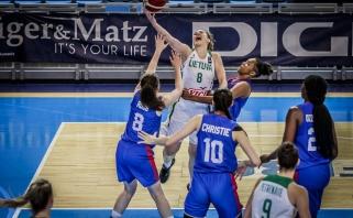 Košmaras paskutiniame kėlinyje lėmė pirmą lietuvių nesėkmę Europos čempionate