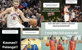 """Žaibiški D.Sabonio atsakymai – apie Lietuvą, """"Žalgirį"""" ir mėgstamiausią NBA žaidėją"""