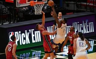 NBA vicečempionai iškovojo pirmąją pergalę, bet prarado Butlerį