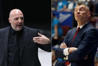 """Jasikevičių pasitinkantis Džordževičius negailėjo pagyrų """"Barcai"""" (Šaro komentaras)"""