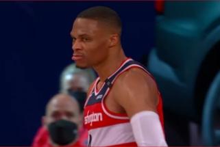 Nuolatinių Top 10 dalyvių Westbrooko ir Joneso dėjimai – įspūdingiausi NBA nakties momentai