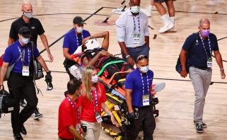 """""""Pacers"""" laimėjo repeticiją, """"Rockets"""" patyrė pažeminimą (šiurpios traumos video)"""