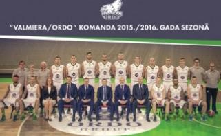 Latvijos čempione pirmą kartą tapo Valmieros komanda