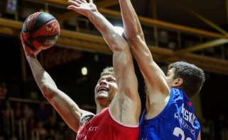 E.Mockevičius persikvalifikavo: rinko ne kamuolius, o taškus